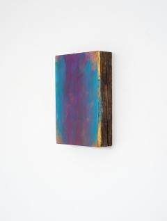 O.T., Öl auf Blattgold auf Holz, 19,5 x 11,5 cm, 2014