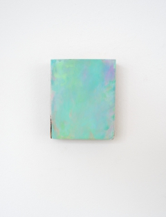 O.T., Öl auf Holz, 11,2 x 9,2 cm, 2014