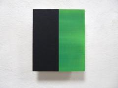 Nr. 11 - 2013, Ölfarben auf Multiplex, 30 x 25 cm