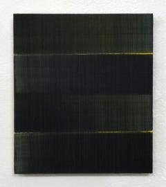 Nr. 112 - 2013, Ölfarben auf Leinwand über Holz, 38,8 x 33,8 cm