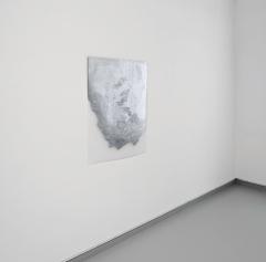 TransMark06, 2015, Lackmarker, Transparentpapier, 100 x 70 cm